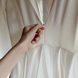 Dėmesys detalėms. Vestuvinė suknelė