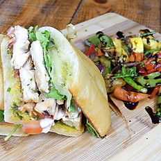 Free range Chicken & Pesto Sandwich