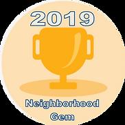Neighborhood Gem award 2019