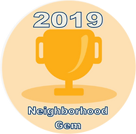 Neighborhood Gem award 2019