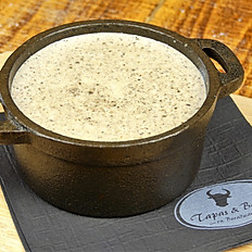 Mushroom and Brie Soup