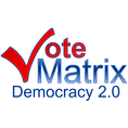 VoteMatrix Democracy 2.0 Logo v2 600x600