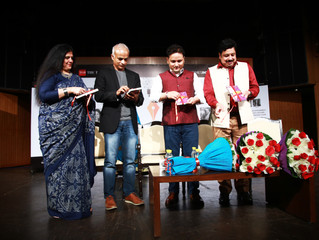 Launch of Write India Book 2 @ Times Lit Fest, New Delhi
