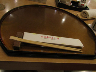 Delhi Dining Day 2: Yokoso! Sakura @The Metropolitan Hotel and Spa, New Delhi