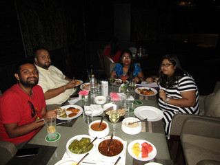 Sanctum Dinner Buffet, A revisit ..Special Influencer's Table Opening Night