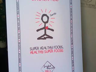 The Health Foods menu, Smoke House Deli