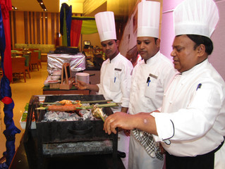 Cookoff with BURRP @ Kava, Fairfield Marriott, Rajajinagar