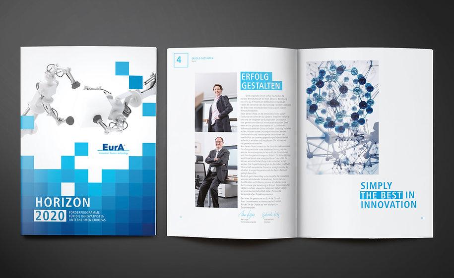 EurA AG Corporate Design · Grafikdesign