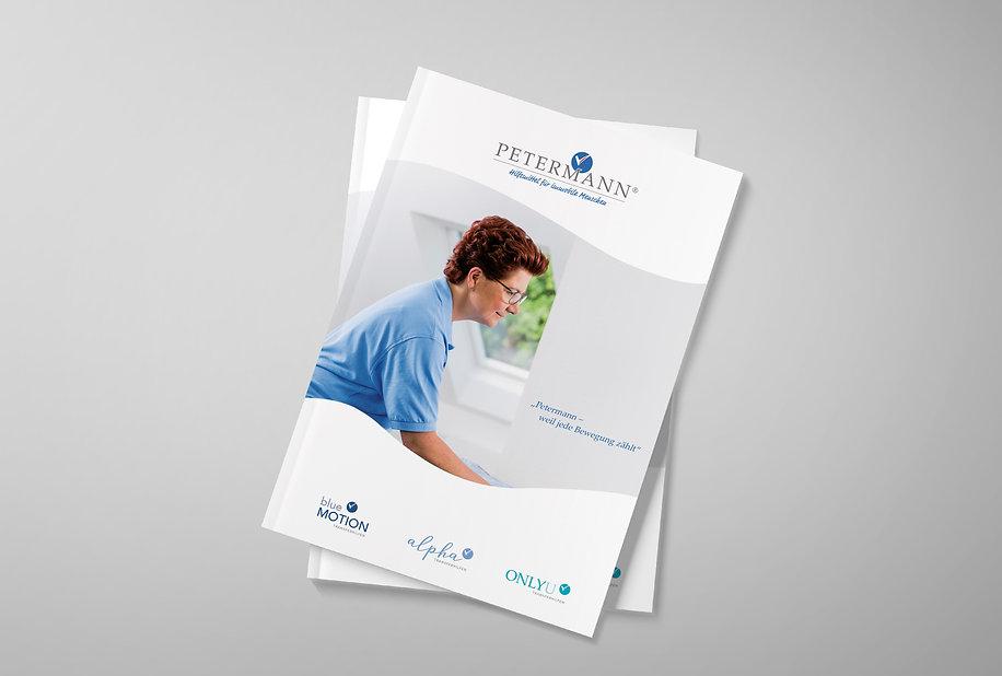 Petermann Katalog Grafikdesign
