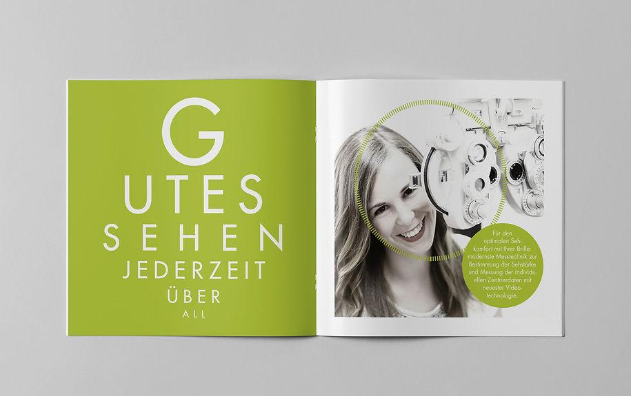 Gutekunst Kampagne Gleitsichtgläser · Werbung
