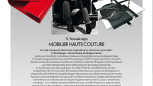 X-NOVODESIGN according to ELLE DECORATION n°257 OCTOBER 2017