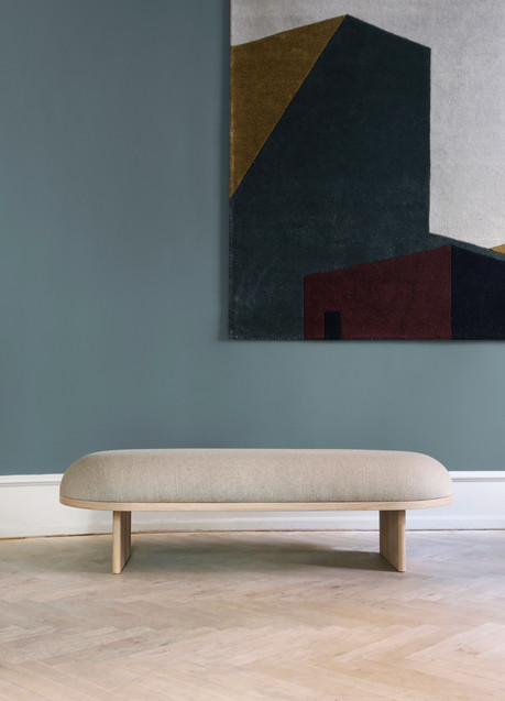 Please Wait to be Seated Anza Bench and Arqui Rug