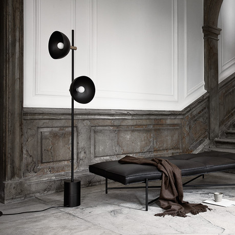Handvärk Studio Floor Lamp and Daybed