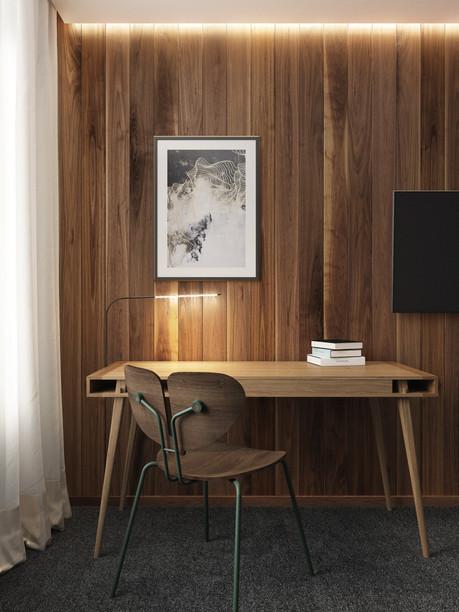 Nordic Tales Poet Desk & Moth Chair