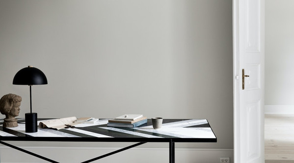 Handvärk Dining Table and Studio Table Lamp