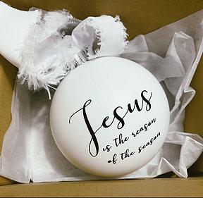 Jesus is the reason... Ornament
