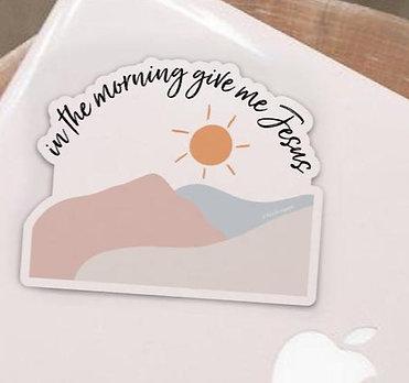 Give me Jesus Sticker