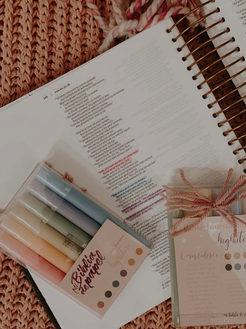 Highliters para Bible Journaling