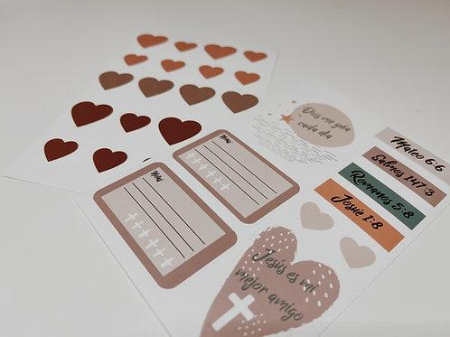 Stickers para la Biblia