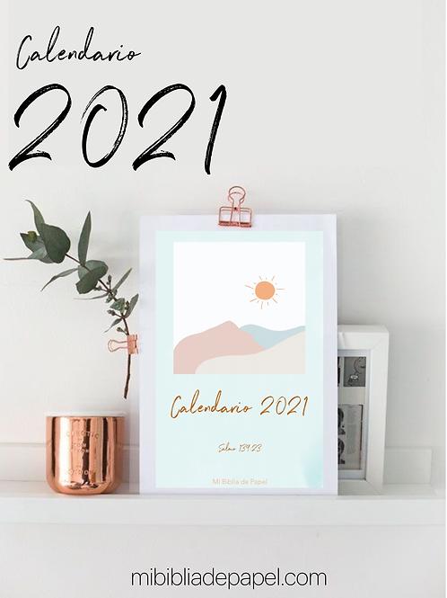Calendario 2021 - Estudiando la Palabra
