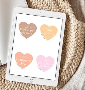 Imprimibles para Valentines