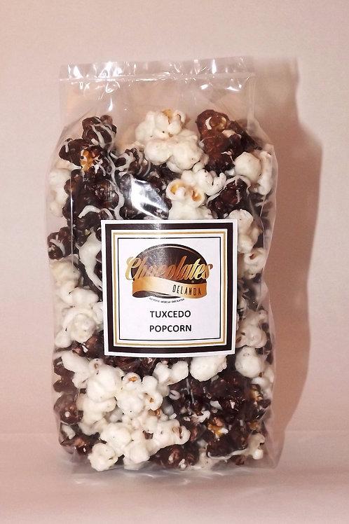 Tuxedo Chocolate Popcorn