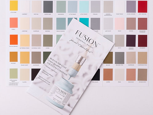 Fushion Colour Brochure
