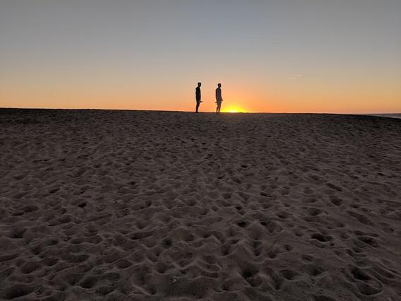 Sunset Lagoa da Albufeira