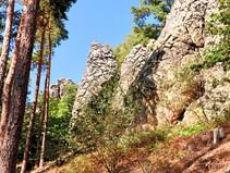 Großer Rundweg Teufelsmauer in Blankenburg, Harz