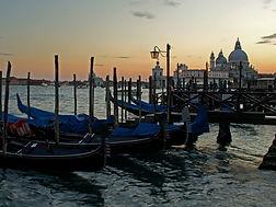 Venedig Gondeln