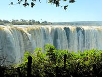 Die Viktoria-Fälle in Simbabwe