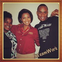 #Teamworkmakesthedreamwork _)