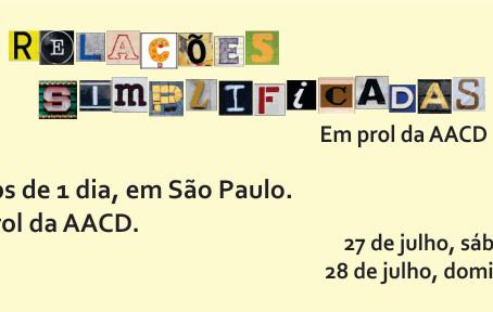 Workshop em prol da AACD