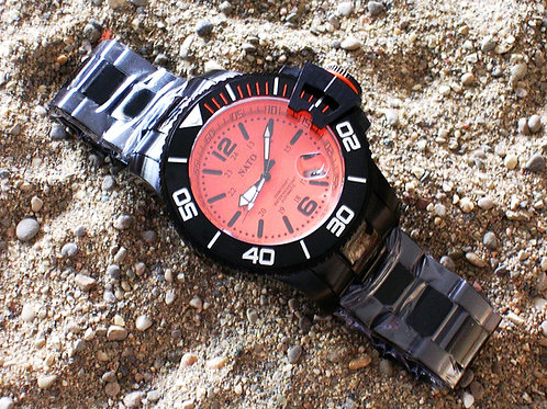 Stealth Series MIL-DIVER - Orange Dial