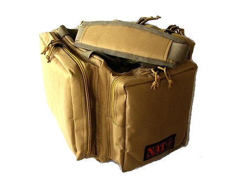 NATO Tactical® Gun Range Bag -Khaki Tan- 20""