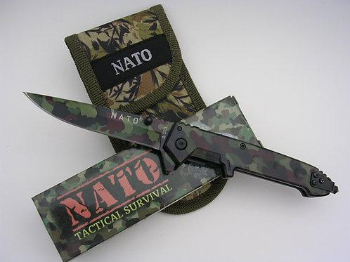 NATO® Camo Military Knife