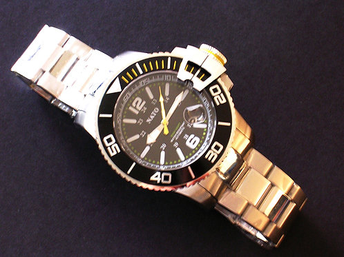 NATO MIL-DIVER - Yellow Accents
