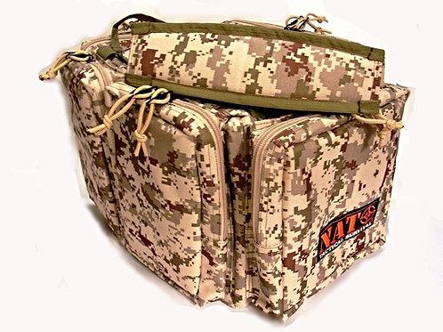 """NATO Tactical® Gun Range Bag -Digital Desert- 20"""""""