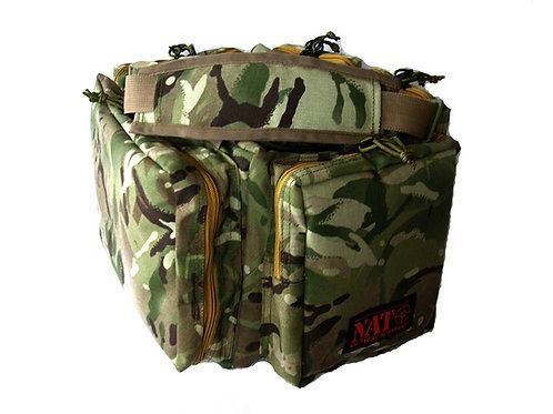 """NATO Tactical® Gun Range Bag -Woodland Camo- 20"""""""