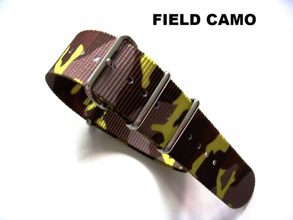 NATO G10® CAMO Ballistic Nylon Watchband 20-22mm