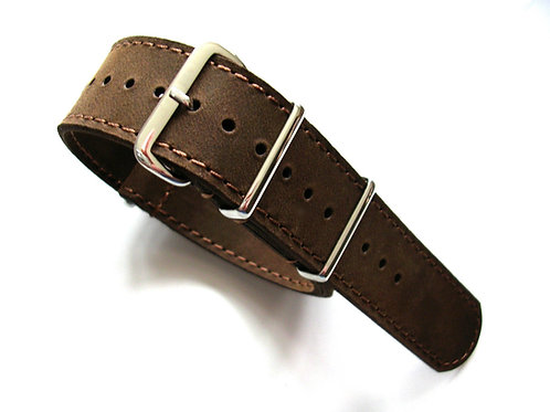 NATO G10® Bomber Leather Watchband