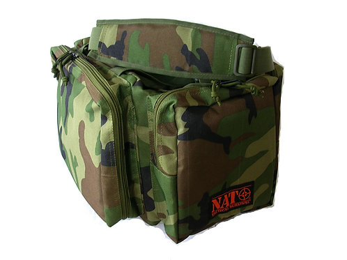 NATO Tactical® Gun Range Bag -Military Camo- 20""