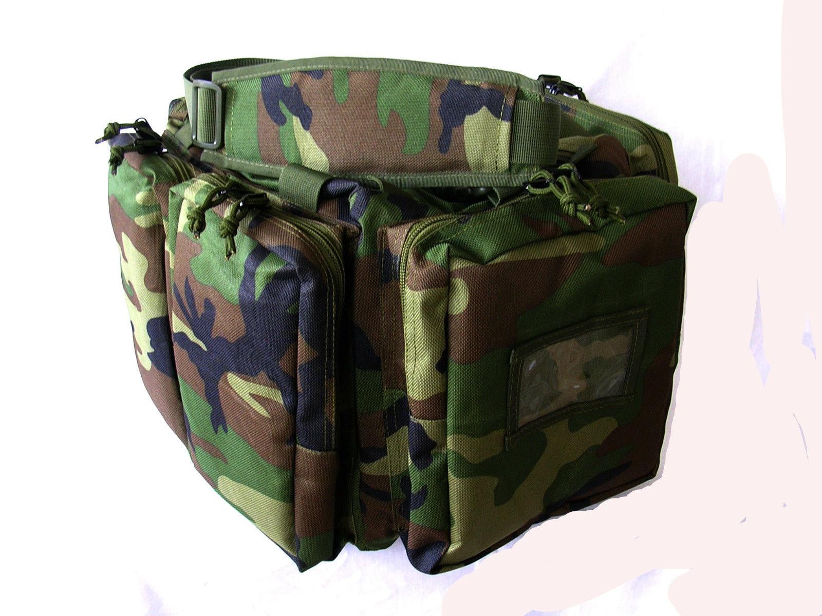 NATO Tactical® Gun Range Bag -Military Camo- 20