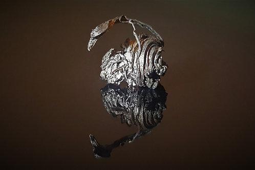 13 mm Native Silver from Schlema-Alberoda, Erzgebirge, Saxony, Germany