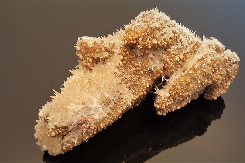 17 cm Calcite, Stilbite, Quartz and Hematite from Malmberget, Sweden