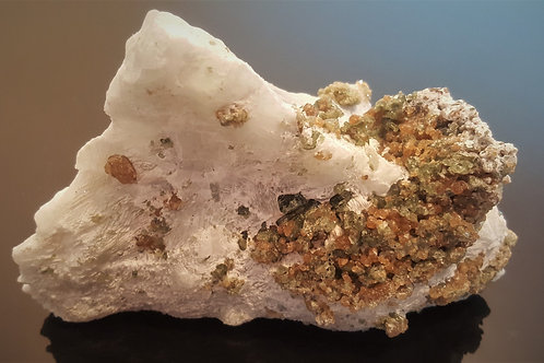 SOLD 15 cm Diopside and Grossular from Seiland, Finnmark, Norway