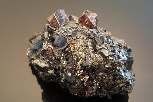 72mm Zircons on Biotite from Seiland, Finnmark, Norway