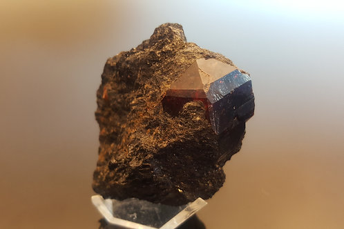 Beautiful 149 gram zircon, Seiland, Norway
