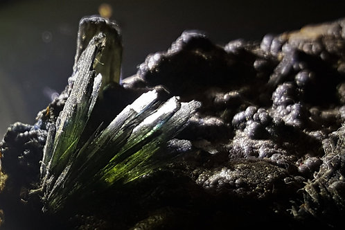 38 mm Vivianite specimen from Crimea, Ukraine