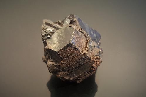 Biotite crystal from Kråkmo, Hamarøy, Nordland, Norway